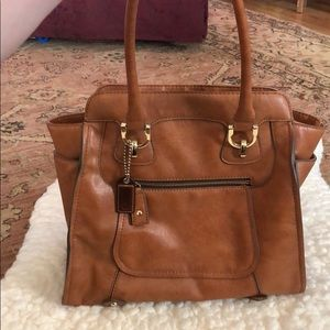 London fog leather purse